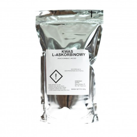 Kwas L-askorbinowy Witamina C 500g Lewoskrętna